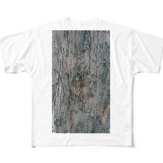 ミンミンゼミ Full graphic T-shirts