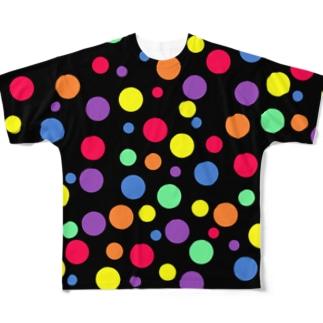 水玉vol.3 フルグラフィックTシャツ