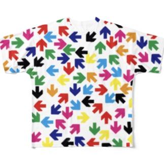 矢印vol.9 フルグラフィックTシャツ