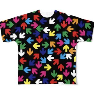 矢印vol.10 フルグラフィックTシャツ