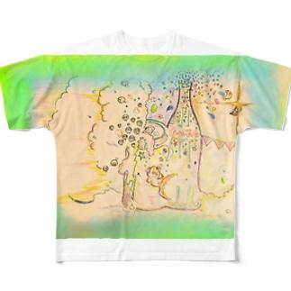 shirotaro-夏の終わりに- Full graphic T-shirts