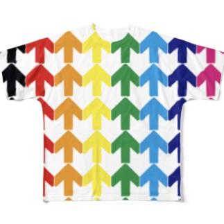 矢印vol.11 フルグラフィックTシャツ