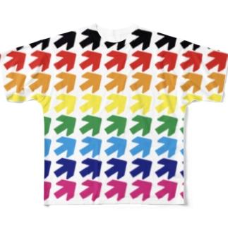 矢印vol.12 フルグラフィックTシャツ