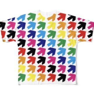 矢印vol.13 フルグラフィックTシャツ