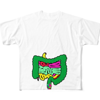 腸キモ洒落アナコンダ Full graphic T-shirts