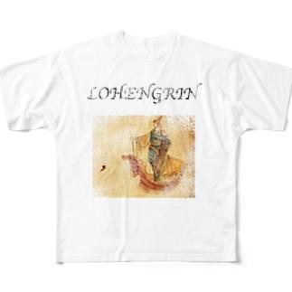 LOHENGRIN フルグラフィックTシャツ