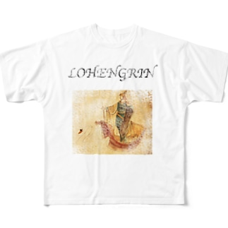 LOHENGRIN Full graphic T-shirts