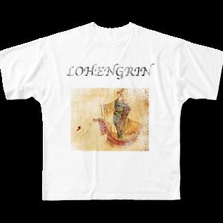 ゆたぽんのLOHENGRIN Full graphic T-shirts
