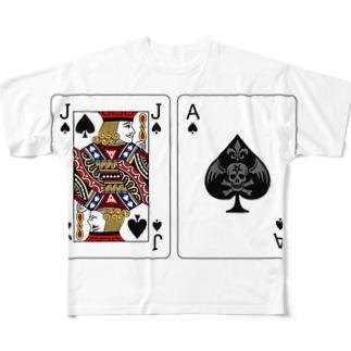 ブラックジャック フルグラフィックTシャツ