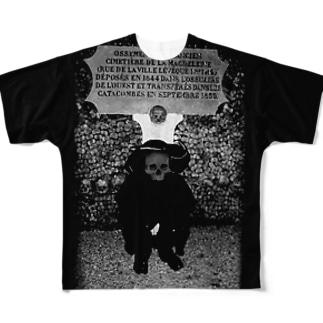 GT フランスの地下にて Full graphic T-shirts