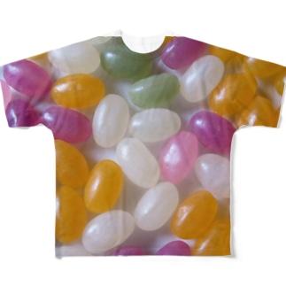 お菓子03 フルグラフィックTシャツ