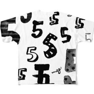 5 フルグラフィックTシャツ