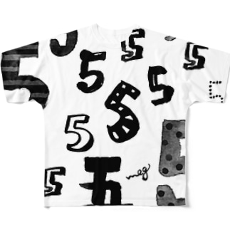 5 Full graphic T-shirts