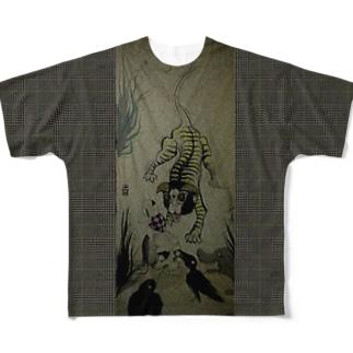 鵺 「えてじゃない」 フルグラフィックTシャツ