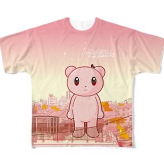 Big Fellows 渋谷View フルグラフィックTシャツ