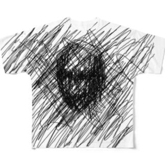 情緒不安定Tシャツ フルグラフィックTシャツ