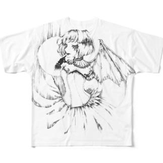 Vampire Night Full graphic T-shirts