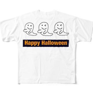 Happy Halloween フルグラフィックTシャツ