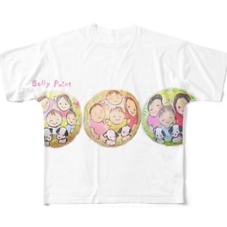 3回目のべりーペイント♪ フルグラフィックTシャツ