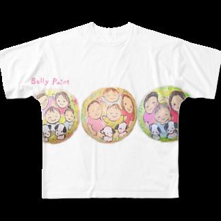 都愛ともかの3回目のべりーペイント♪ Full graphic T-shirts