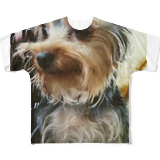 あいらぶヨーキ Full graphic T-shirts