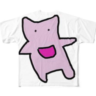 とんとん Full graphic T-shirts