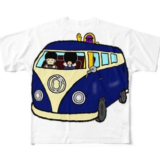 ゴトロカー Full graphic T-shirts