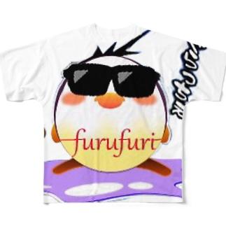 フルフリバージョン2 Full graphic T-shirts