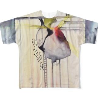 心臓はうす Full graphic T-shirts