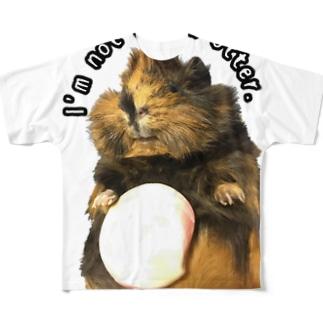 ラッコじゃねぇよ Full graphic T-shirts