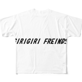 ギリギリフレンズグッズ Full graphic T-shirts