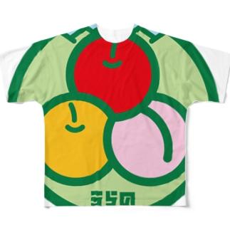 パ紋No.3115 うらの Full graphic T-shirts