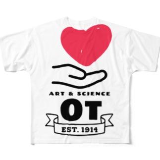 作業療法 フルグラフィックTシャツ