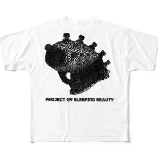 alien's フルグラフィックTシャツ