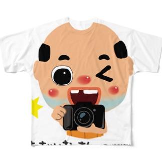 ちっちゃいおっさん(カメラ) Full graphic T-shirts