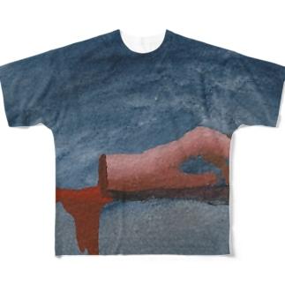 愛とソレと Tシャツ フルグラフィックTシャツ