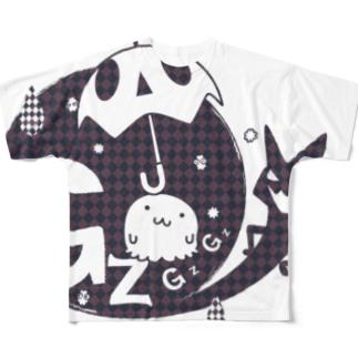 GZGZワールドのなぞー2FG フルグラフィックTシャツ