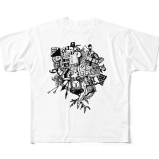 時間旅行。 Full graphic T-shirts