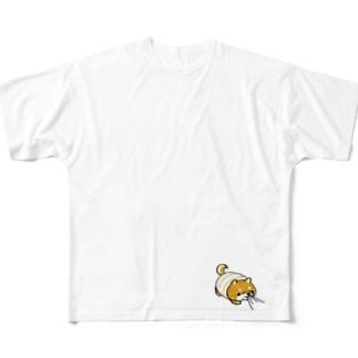 はらまきわんす 【ねえねえ】 Full graphic T-shirts