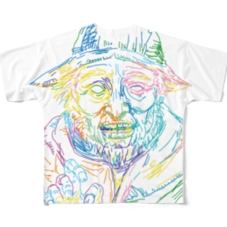 ROJIN Full graphic T-shirts