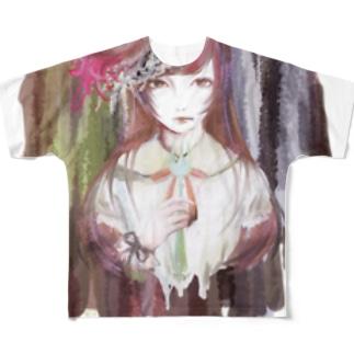 ガトーショコラ Full graphic T-shirts
