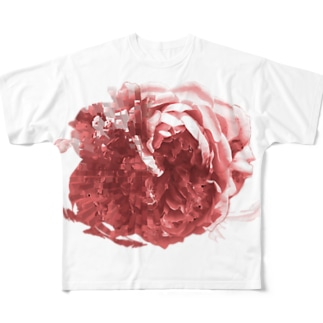 RD_rose_red Full graphic T-shirts