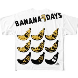 BANANA9DAYS フルグラフィックTシャツ