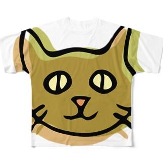 素ぅネコ フルグラフィックTシャツ