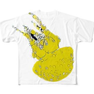 ドククラゲ Full graphic T-shirts