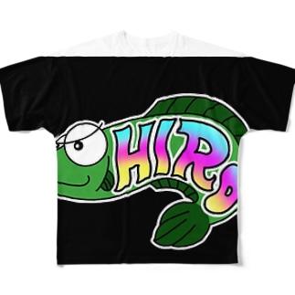 極悪ひろちゃん Full graphic T-shirts