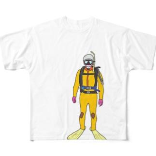 水難救助隊員 Full graphic T-shirts
