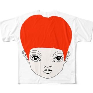 RED HEAD ANGE フルグラフィックTシャツ