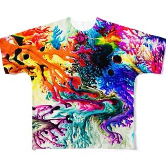 dyebirth_001 Full graphic T-shirts