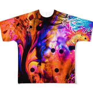 dyebirth_003 フルグラフィックTシャツ